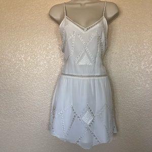 Tularosa Embroidered Mini Dress XS